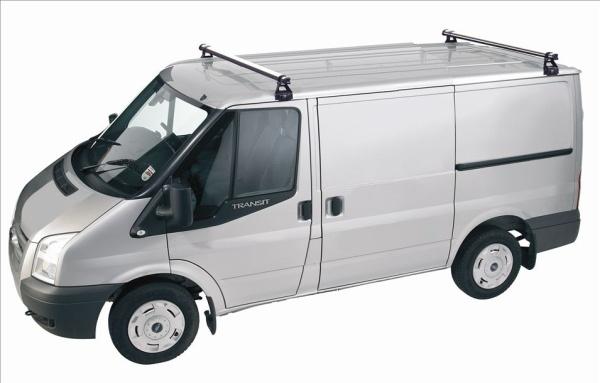 Ford Transit Rhino 2 Bar Roof Rack Swb Low Roof 2000-2014 AB2D-B82